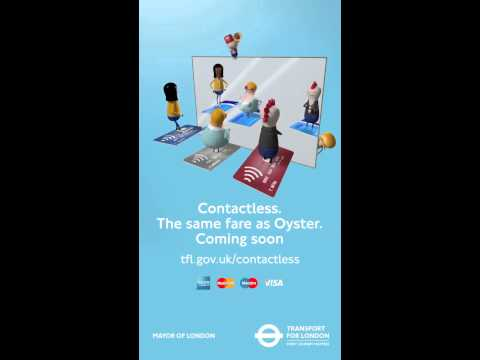 Contactless Payment - The same fare as Oyster