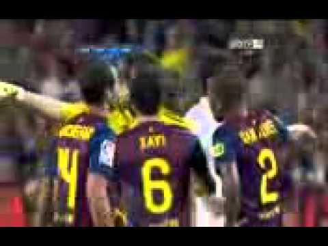 barcelona vs real madrid 3 2 mesut ozil fight david villa hi 56699