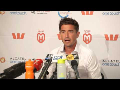 Press with Harry Kewell - 26/3/14