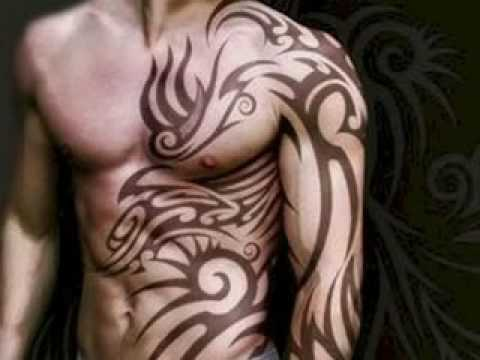 Body tattoo tribal tattoo pictures youtube for Tribal body tattoo