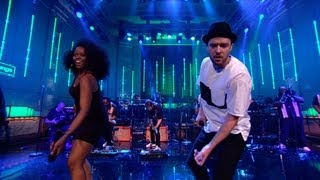 Justin Timberlake Live: Shake Your Body (Down To The Ground) by The Jackson 5