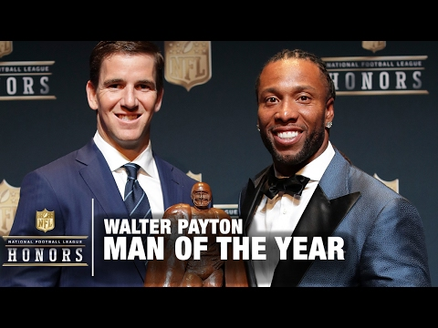 Walter payton man of the year 2016 nominees for best