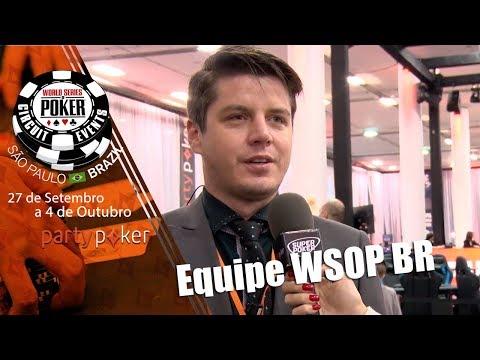 Equipe da WSOP Brazil