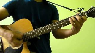 A-Team Ed Sheeran Easy Guitar Tutorial (No Capo) With