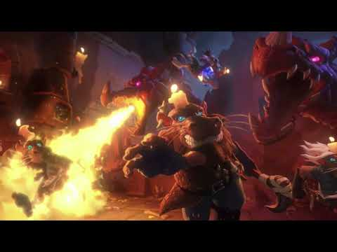 Hearthstone 'Kobolds and Catacombs' Cinematic   BlizzCon 2017