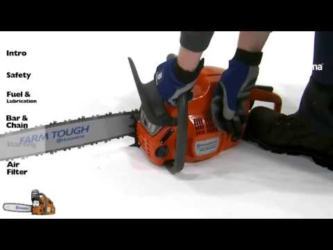 Husqvarna Chainsaws Starting