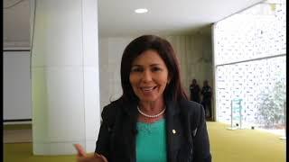 Deputada federal Conceição Sampaio reconhece o trabalho da FMC
