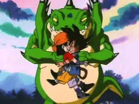 Dragonball GT - Goku and Pan vs Haze Shenlong (2 Stars Dragon)