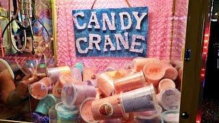 FOUND A COTTON CANDY CLAW MACHINE!!!