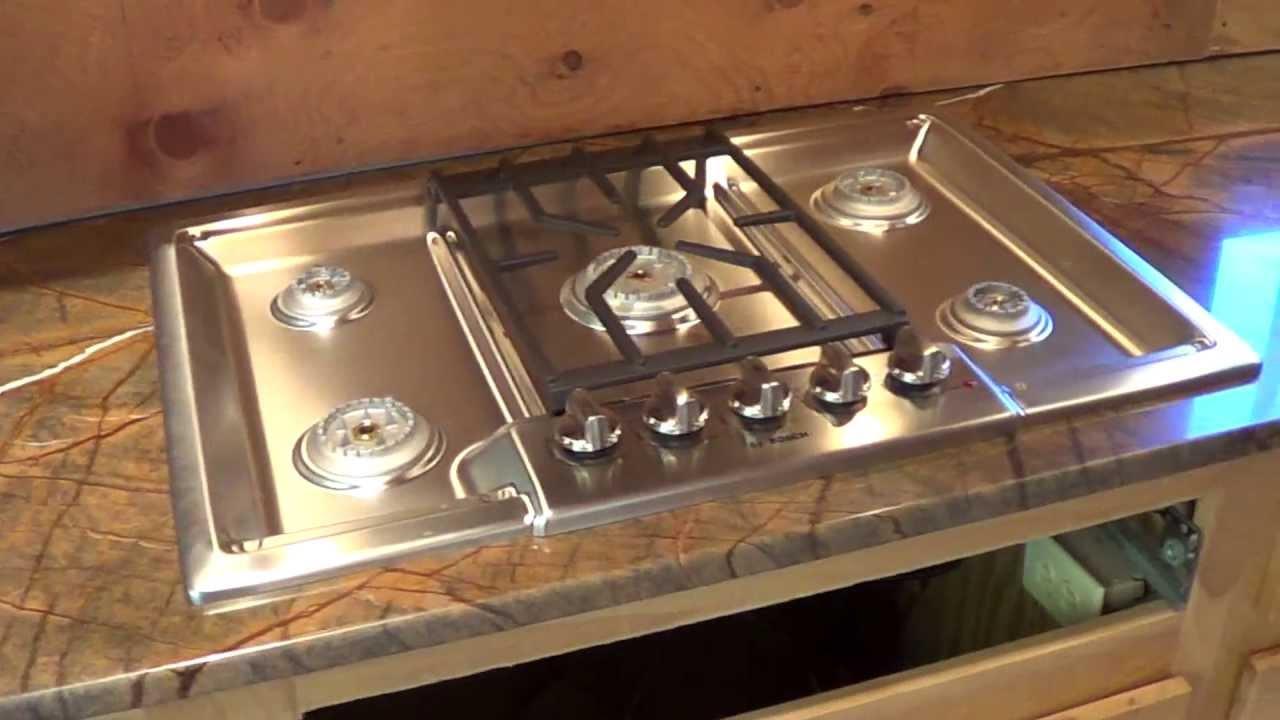 ... Countertop Installation (Undermount Sink & Drop In Stove) - YouTube