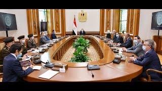 الرئيس السيسي يستعرض المشروع القومي