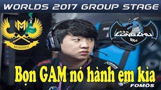GAM vs Longzhu - Đây là lần đầu tiên tôi thấy LZ.Khan ăn hành nhiều đến thế tại CKTG 2017