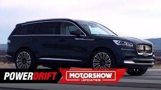 2019 Lincoln Aviator : Just lacks wings : 2018 LA Auto Show : PowerDrift