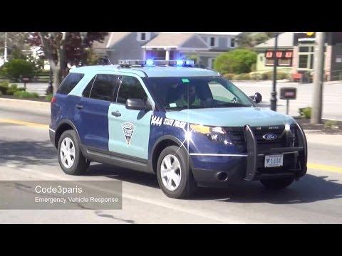 Massachusetts State Police Ford Explorer Police Interceptor Utility