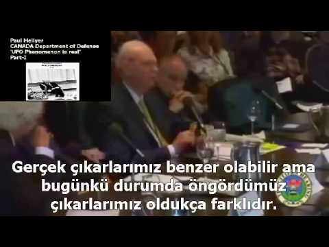 PART-I-Paul Hellyer-CANADA Department Defense-'UFO Phenomenon is real'
