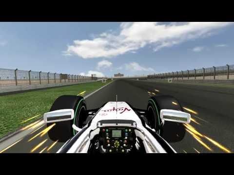 GTR2 F1 2009 Dubai My Best Lap