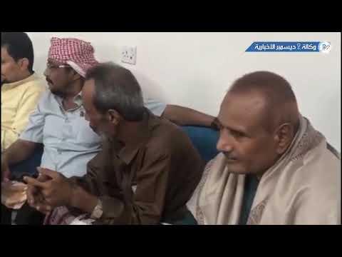 العميد طارق صالح يتفقد أضرار السيول بحي السويس بالمخا