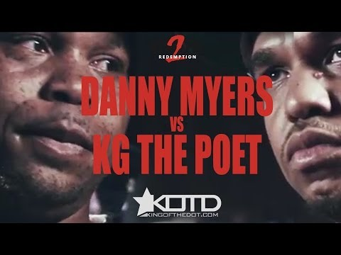 KOTD - Rap Battle - Danny Myers vs KG The Poet