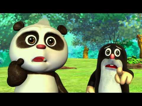 Krtko a Panda 18 - Sedenie na vajci