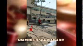 Idoso � atropelado e morto por ciclista em Juiz de Fora