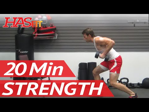 20 Min Home Strength Training Exercise   Home Strength Workout for Men & Women at Home