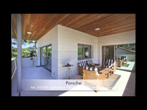 Casa de lujo con jard n piscina y garaje exquisito for Casas modernas con piscina interior
