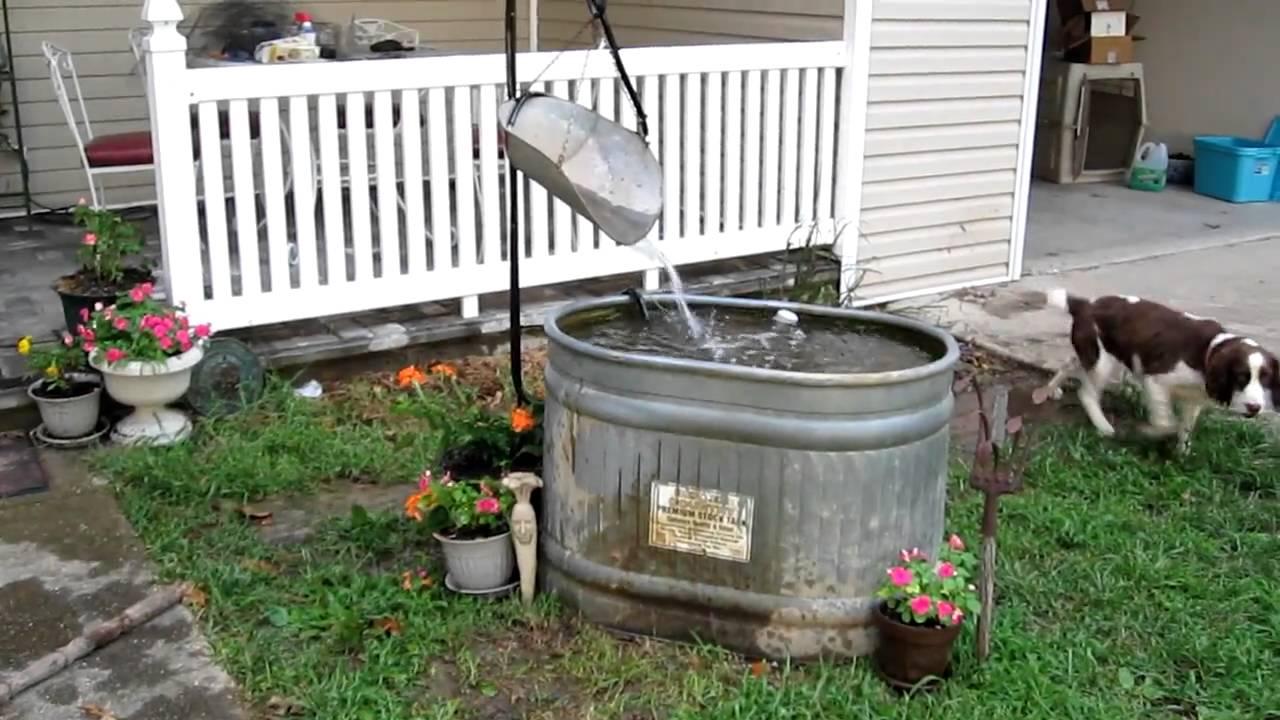 Stock Tank Pond Youtube