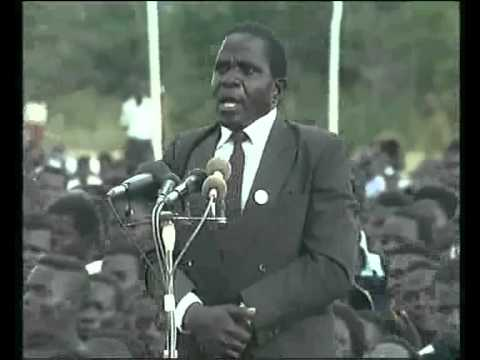 1993 - Foloma Mwale of MCP, Mchinji - Speech Against Multi Party System