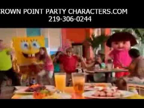 Rent a character for birthday party    219 306 0244 NWI,Indiana, Chicago, crownpointpartycharacters