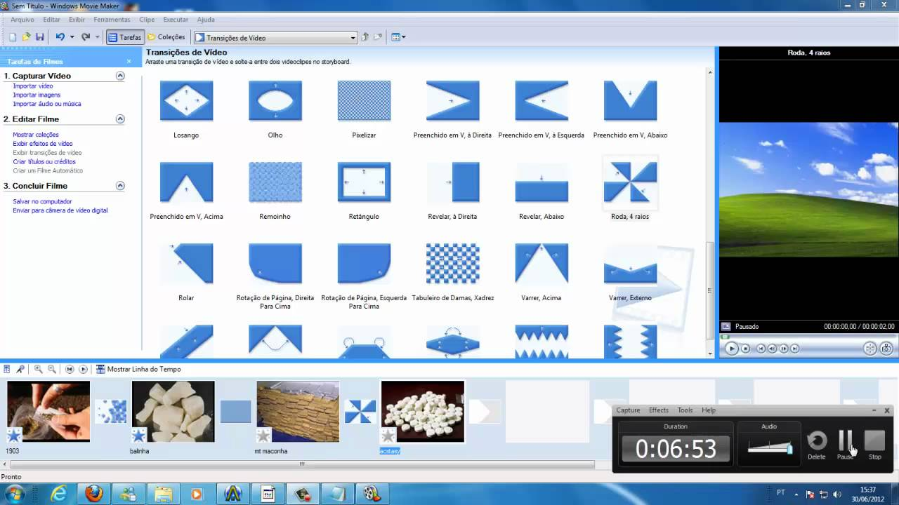 como usar o Windows Movie Maker 2.6 - YouTube