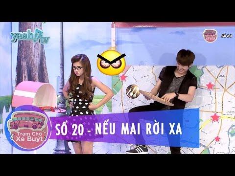 Trạm Chờ Xe Buýt 20 | Nếu Mai Rời Xa | Khởi My & Huy Khánh | MC Cut [Game Show]