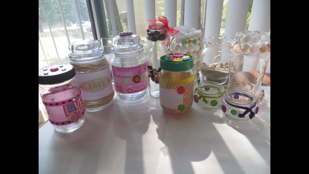 Diy ideas para decorar frascos y botellas de vidrio - Decorar botellas de vidrio ...