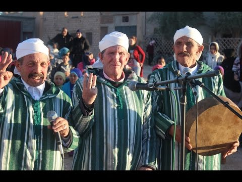 """احتفال ساكنة السات بتنجداد بـ """"ايض سكاس"""" رأس السنة الامازيغية 2967"""