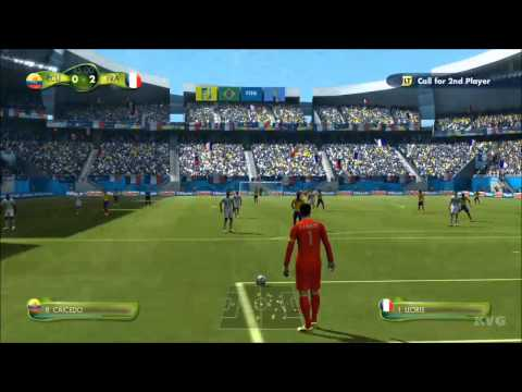 2014 FIFA World Cup Brazil - Ecuador vs France Gameplay [HD]
