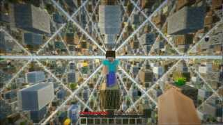 Прохождение игры Minecraft Skygrid.