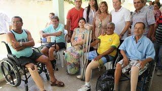 Entrega de prótese e órtese em Atafona