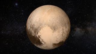 Odhalené Pluto