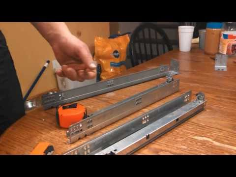 soft close drawer slides retrofit how to make a soft closed drawer s. Black Bedroom Furniture Sets. Home Design Ideas