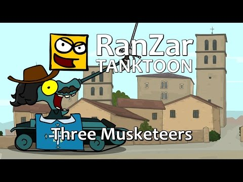 Tanktoon - Traja mu�ketieri