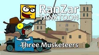 Tanktoon - Traja mušketieri