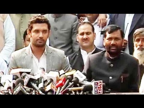 All options open including tie-up with BJP: Ram Vilas Paswan