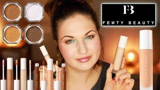 Fenty Beauty Concealer, Powder & Foundation Review + How to Match Foundation