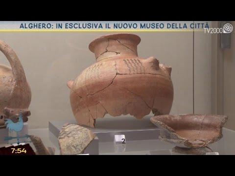 Esclusiva TV2000: il nuovo Museo di Alghero