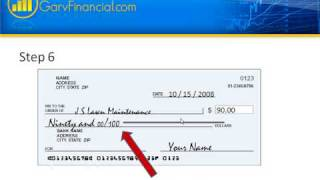 How to write a check for 120 dollars