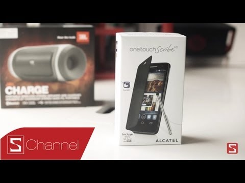 Schannel - Mở hộp Alcatel One Touch Scribe HD - CellphoneS