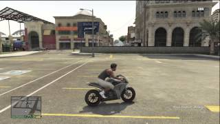 GTA 5 FASTEST BIKE IN THE GAME WITH SECRET LOCATION MOTORCYCLE | GTA 5