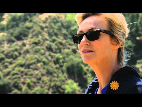 Jane Lynch on CBS Sunday Morning June 15, 2014