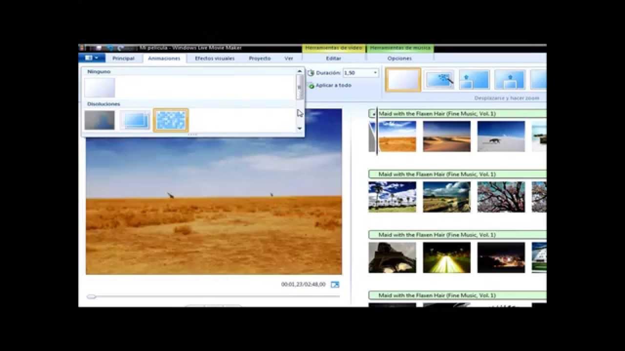 ... usar windows live movie maker 2011-2012 HD1080p || basico || - YouTube