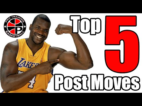 Top 5 Post Moves   Dominate the Low Post   Pro Training Basketball