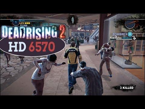 Dead Rising 2 - Teste HD 6570